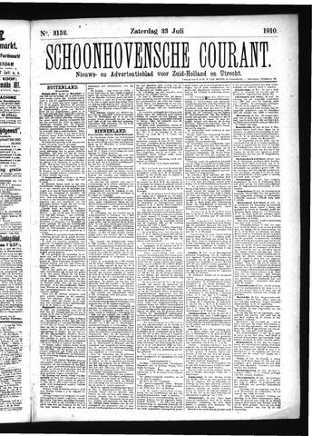 Schoonhovensche Courant 1910-07-23