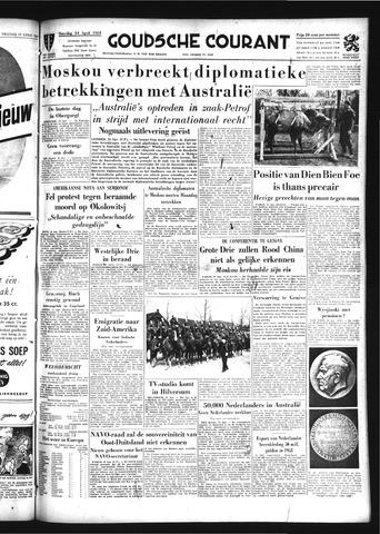 Goudsche Courant 1954-04-24