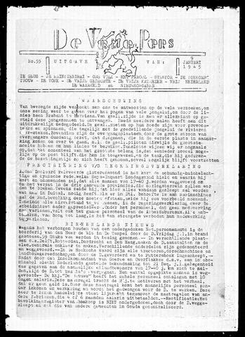 De Vrije Pers 1945-01-09