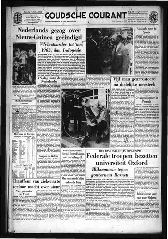 Goudsche Courant 1962-10-01