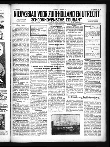 Schoonhovensche Courant 1949-12-21