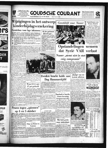 Goudsche Courant 1961-09-29