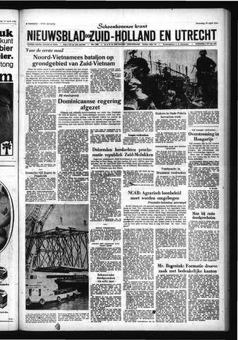 Schoonhovensche Courant 1965-04-26