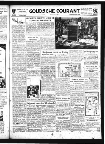 Goudsche Courant 1952-07-10