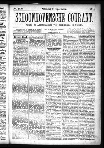 Schoonhovensche Courant 1911-09-09