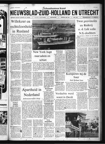 Schoonhovensche Courant 1972-07-24