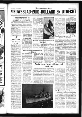 Schoonhovensche Courant 1959-10-09