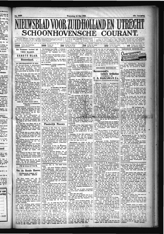 Schoonhovensche Courant 1928-05-16