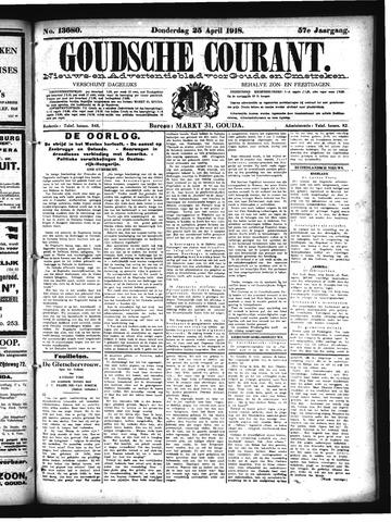 Goudsche Courant 1918-04-25