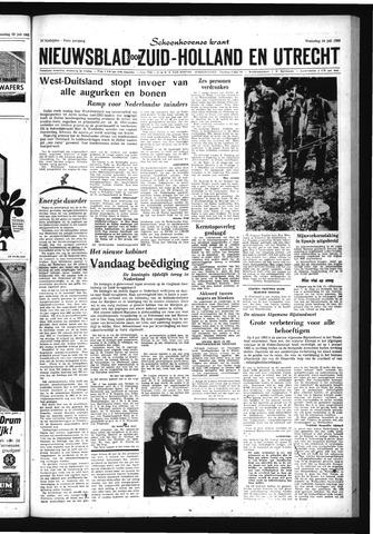 Schoonhovensche Courant 1963-07-24