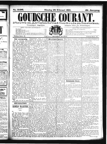 Goudsche Courant 1911-02-28