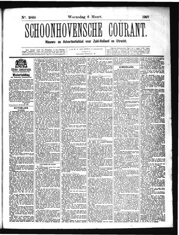 Schoonhovensche Courant 1907-03-06