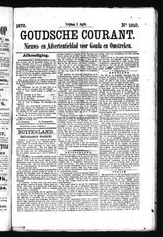 Goudsche Courant 1876-04-07