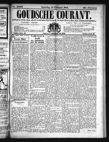 Goudsche Courant 1914-02-14