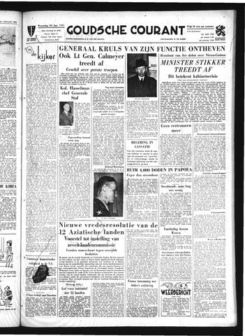 Goudsche Courant 1951-01-24