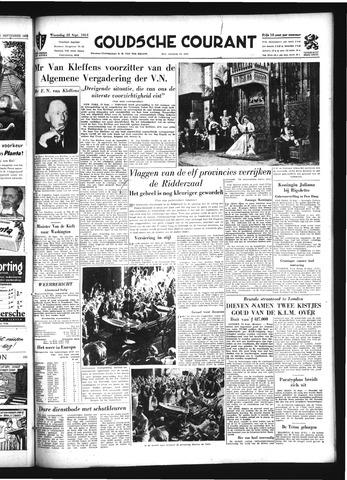 Goudsche Courant 1954-09-22