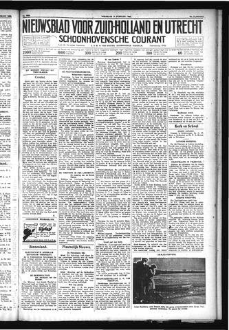 Schoonhovensche Courant 1932-02-17