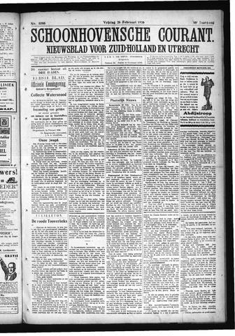 Schoonhovensche Courant 1926-02-26