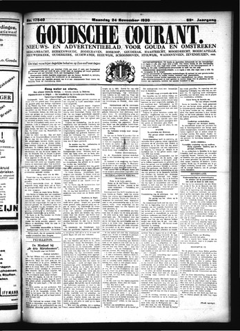 Goudsche Courant 1930-11-24