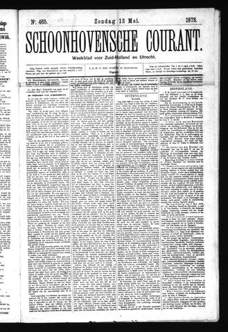 Schoonhovensche Courant 1878-05-12