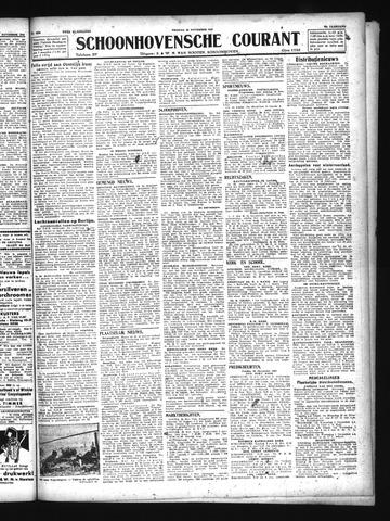 Schoonhovensche Courant 1943-11-26
