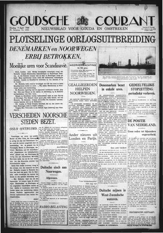 Goudsche Courant 1940-04-09