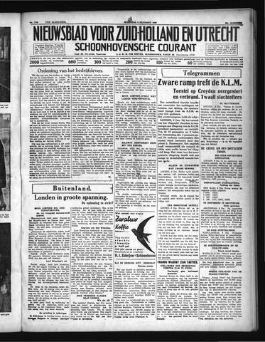 Schoonhovensche Courant 1936-12-09