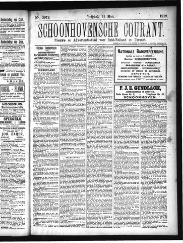 Schoonhovensche Courant 1918-05-31