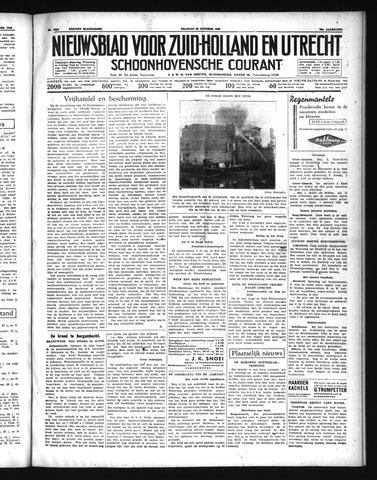 Schoonhovensche Courant 1938-10-28