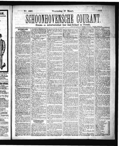 Schoonhovensche Courant 1912-03-27