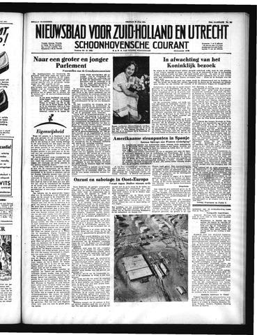 Schoonhovensche Courant 1951-07-20