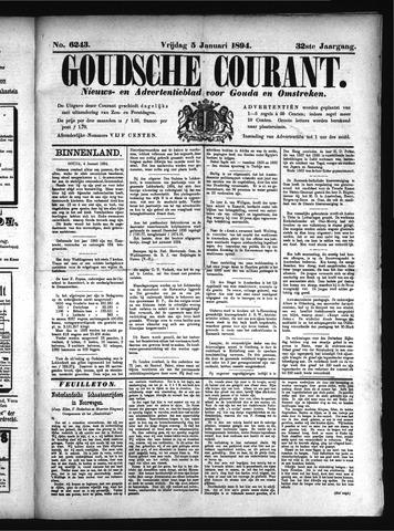 Goudsche Courant 1894-01-05