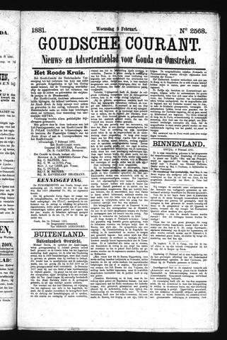 Goudsche Courant 1881-02-09