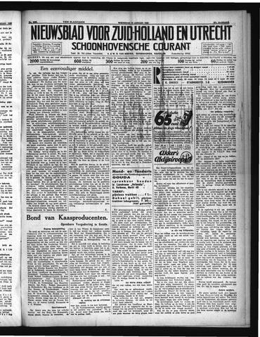Schoonhovensche Courant 1935-01-16