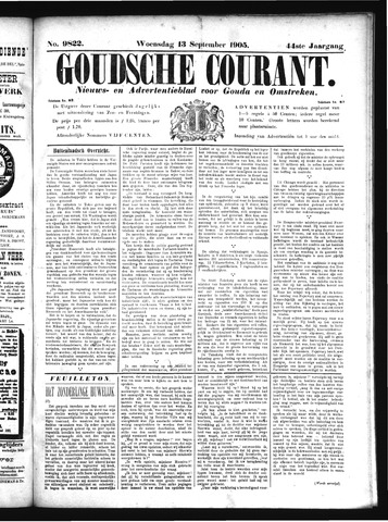 Goudsche Courant 1905-09-13
