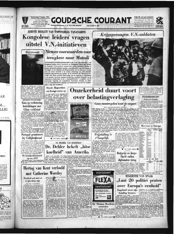 Goudsche Courant 1961-03-09
