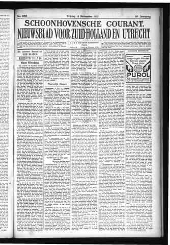 Schoonhovensche Courant 1927-11-18