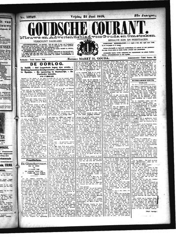 Goudsche Courant 1918-06-21
