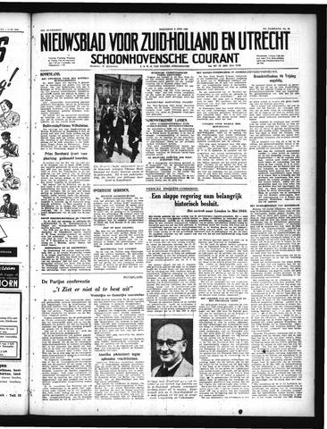 Schoonhovensche Courant 1949-06-08