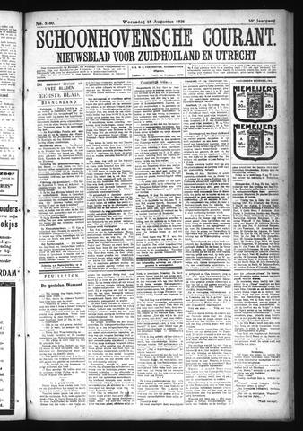 Schoonhovensche Courant 1926-08-18