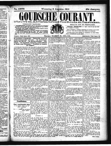 Goudsche Courant 1919-08-06