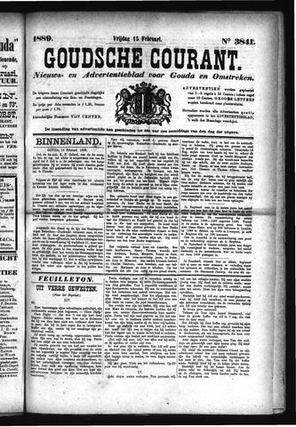 Goudsche Courant 1889-02-15