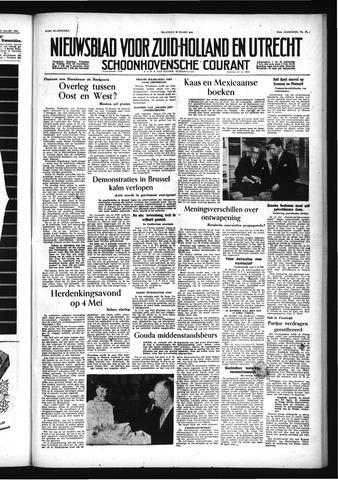 Schoonhovensche Courant 1955-03-28