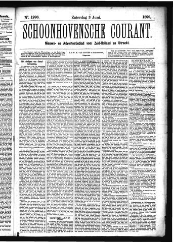 Schoonhovensche Courant 1899-06-03