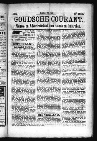 Goudsche Courant 1881-06-26