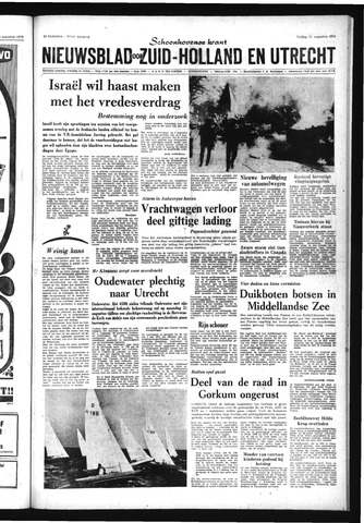 Schoonhovensche Courant 1970-08-21