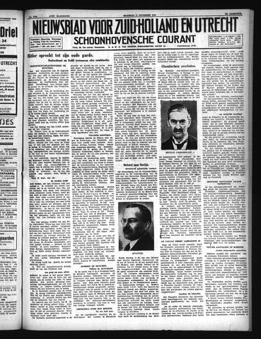 Schoonhovensche Courant 1940-11-11