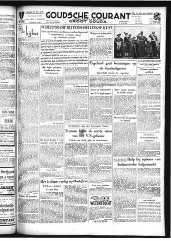 Goudsche Courant 1949-10-25