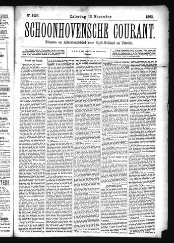 Schoonhovensche Courant 1893-11-18
