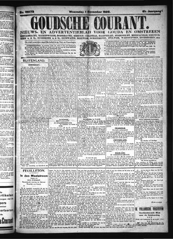 Goudsche Courant 1922-11-01